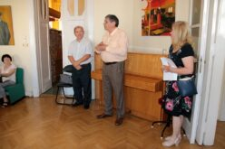 A Magyar Múzsa folyóirat bemutatójával és a 4. Tavaszi Tárlat díjainak átadásával újranyitottuk székházunkat