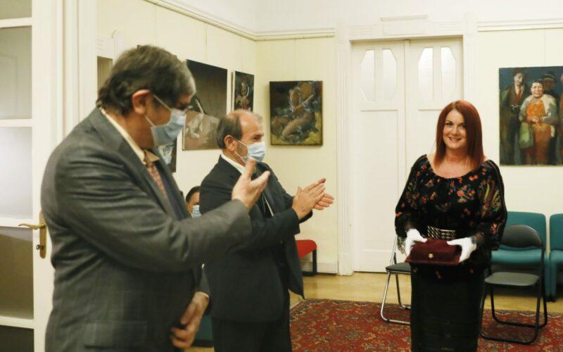Kiállításmegnyitóval egybekötött ünnepi rendezvényen adtuk át a Petőfi Sándor Sajtószabadság-díjakat